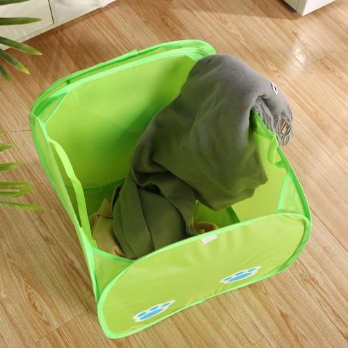 Корзина для игрушек Веселые животные с крышкой на липучке   в  Интернет-магазин Zelenaya Vorona™ 3