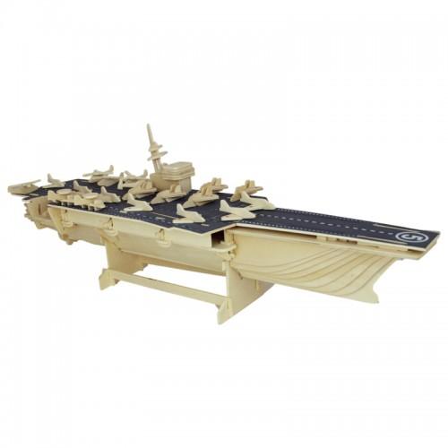 Покупка  3D Деревянный конструктор. Модель корабль Авианосец в  Интернет-магазин Zelenaya Vorona™