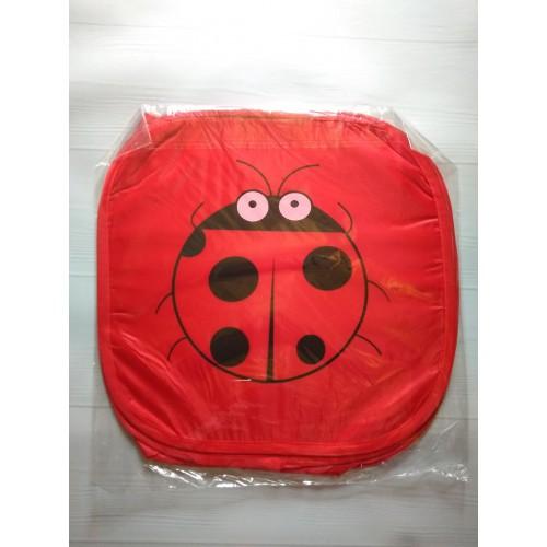 Корзина для игрушек Веселые животные с крышкой на липучке   в  Интернет-магазин Zelenaya Vorona™ 6