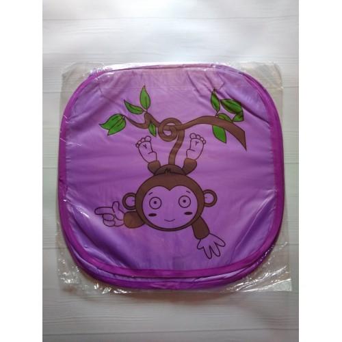 Корзина для игрушек Веселые животные с крышкой на липучке   в  Интернет-магазин Zelenaya Vorona™ 8