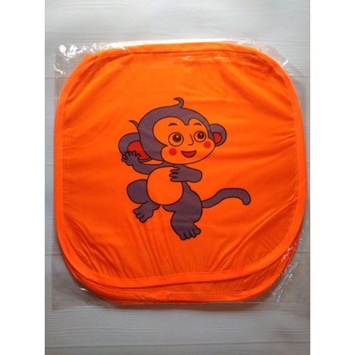 Корзина для игрушек Веселые животные с крышкой на липучке   в  Интернет-магазин Zelenaya Vorona™ 9
