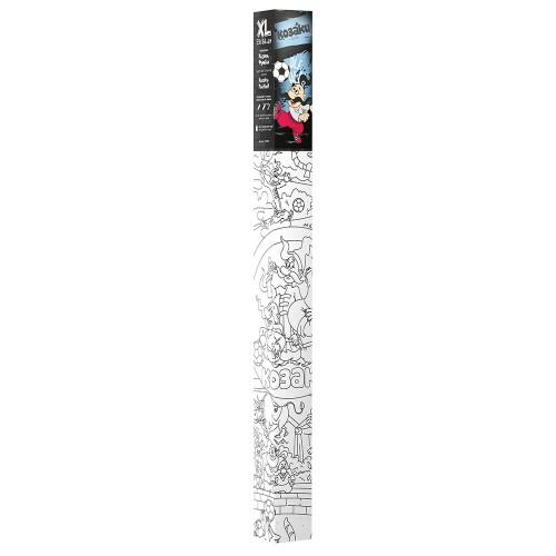 Плакат-раскраска Казаки. Футбол XL (тубус)  в  Интернет-магазин Zelenaya Vorona™ 4