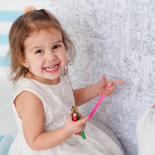 Плакат-раскраска Кухонные Феи XL (тубус)  в  Интернет-магазин Zelenaya Vorona™ 2