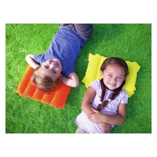 Надувная флокированная подушка Travel Pillow  в  Интернет-магазин Zelenaya Vorona™ 1