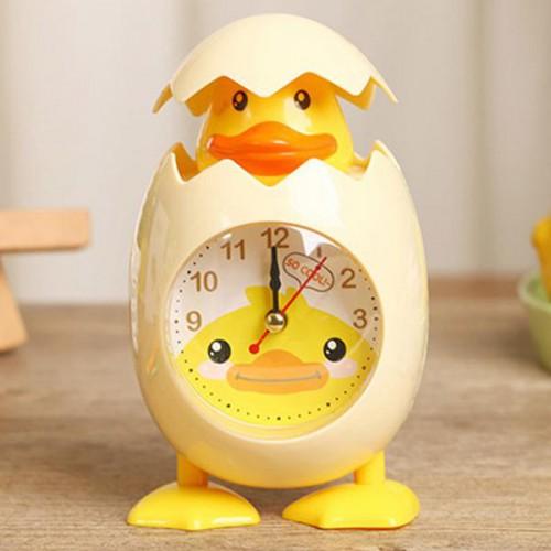 Детские настольные часы-будильник Утенок  в  Интернет-магазин Zelenaya Vorona™ 1