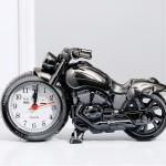 Детские настольные часы-будильник Мотоцикл (ПРИМЯТА УПАКОВКА)