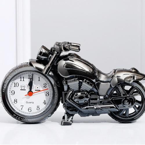 Покупка  Детские настольные часы-будильник Мотоцикл в  Интернет-магазин Zelenaya Vorona™