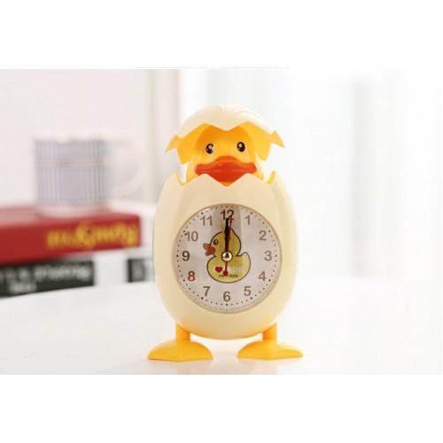 Детские настольные часы-будильник Утенок  в  Интернет-магазин Zelenaya Vorona™ 2