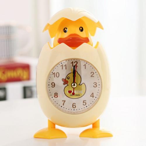 Покупка  Детские настольные часы-будильник Утенок в  Интернет-магазин Zelenaya Vorona™