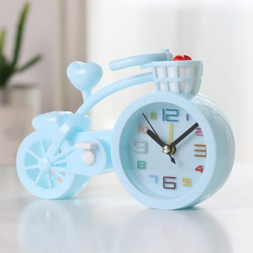 Покупка  Настольные часы-будильник Велосипед. Светло-голубой в  Интернет-магазин Zelenaya Vorona™