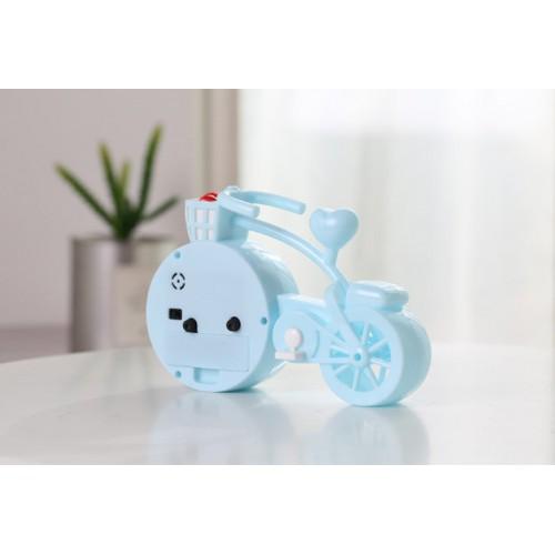 Настольные часы-будильник Велосипед. Светло-голубой  в  Интернет-магазин Zelenaya Vorona™ 2