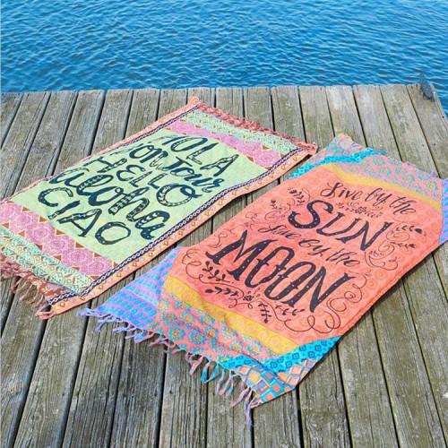 Пляжный коврик LIVE 100х150 см  в  Интернет-магазин Zelenaya Vorona™ 2