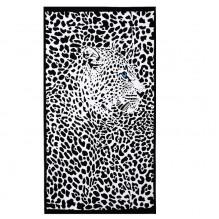 Пляжное полотенце Leopard 100х180 см, микрофибра