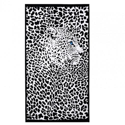Пляжное полотенце Leopard 100х180 см, микрофибра  в  Интернет-магазин Zelenaya Vorona™ 2