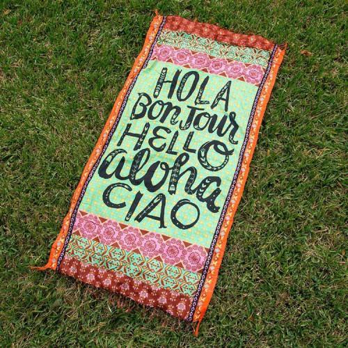 Покупка  Пляжный коврик HOLA 100х150 см в  Интернет-магазин Zelenaya Vorona™