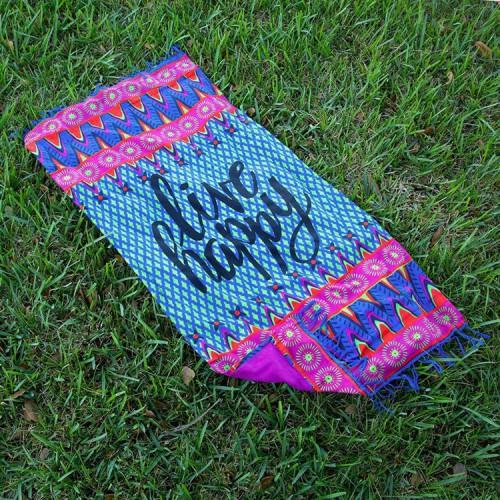 Покупка  Пляжный коврик LIVE 100х150 см в  Интернет-магазин Zelenaya Vorona™