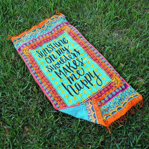 Покупка  Пляжный коврик SHUNSHINE 100х150 см в  Интернет-магазин Zelenaya Vorona™