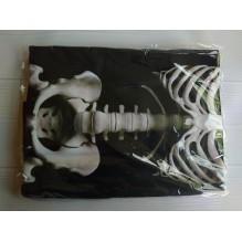 Пляжное полотенце Skeleton из микрофибры 140х70 см