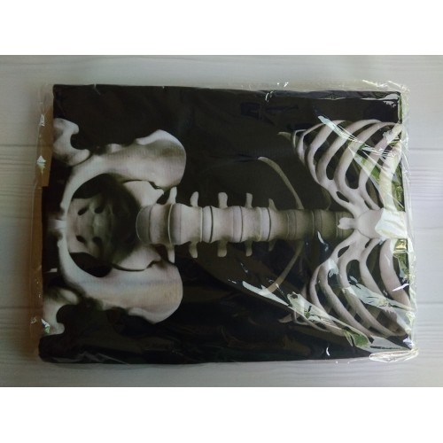 Пляжное полотенце Skeleton из микрофибры 140х70 см  в  Интернет-магазин Zelenaya Vorona™ 4