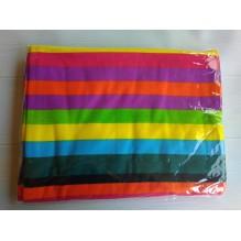 Пляжное полотенце Rainbow 100х180 см, микрофибра