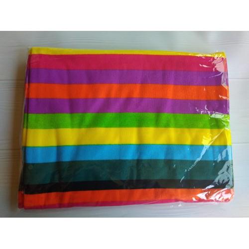 Пляжное полотенце Rainbow 100х180 см, микрофибра  в  Интернет-магазин Zelenaya Vorona™ 4
