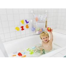 Органайзер для детских игрушек на присосках в ванную. Toys bag Large