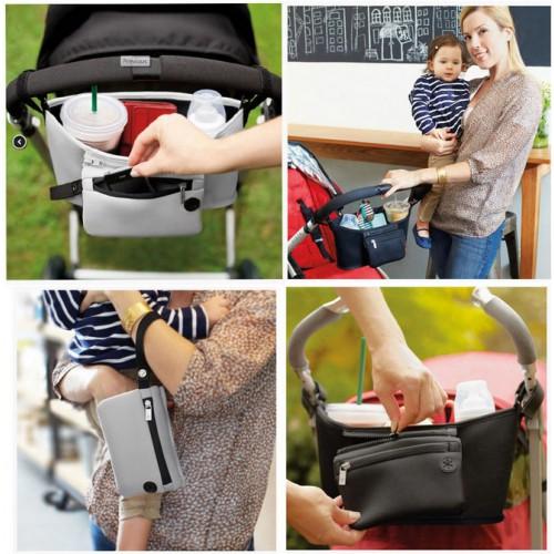 Сумка для мамы на коляску   в  Интернет-магазин Zelenaya Vorona™ 1