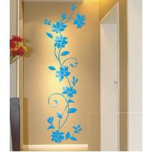 """Акриловая 3D наклейка """"Liana"""" светло-голубой"""