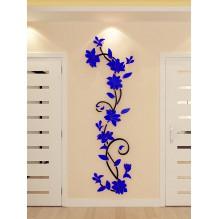 """Акриловая 3D наклейка """"Liana"""" темно-синий"""