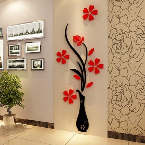 """Акриловая 3D наклейка """"Vase""""   в  Интернет-магазин Zelenaya Vorona™ 1"""