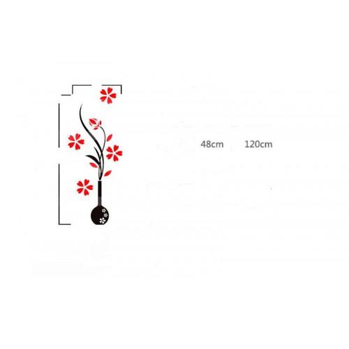 """Акриловая 3D наклейка """"Vase""""   в  Интернет-магазин Zelenaya Vorona™ 2"""