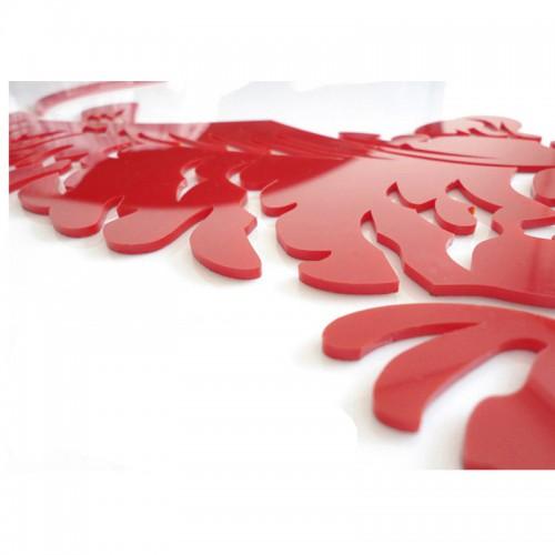 """Акриловая 3D наклейка """"Flower"""" светло-зеленый  в  Интернет-магазин Zelenaya Vorona™ 2"""