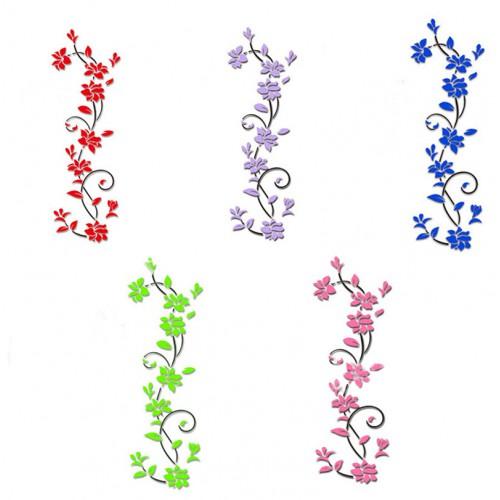 """Акриловая 3D наклейка """"Liana"""" светло-зеленый  в  Интернет-магазин Zelenaya Vorona™ 2"""