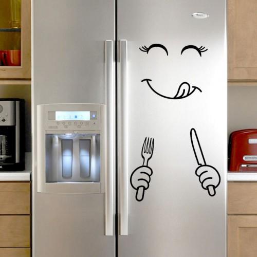 Покупка  Наклейка на холодильник Приятного аппетита! в  Интернет-магазин Zelenaya Vorona™