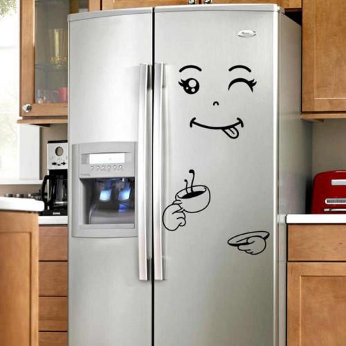 Покупка  Наклейка на холодильник С бодрым утром! в  Интернет-магазин Zelenaya Vorona™
