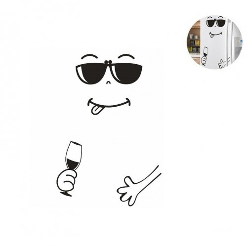 Наклейка на холодильник Хорошего вечера!  в  Интернет-магазин Zelenaya Vorona™ 1