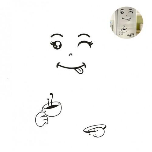 Наклейка на холодильник С бодрым утром!  в  Интернет-магазин Zelenaya Vorona™ 2