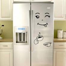 Наклейка на холодильник С бодрым утром!
