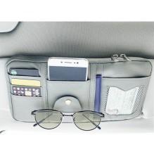 Автомобильный органайзер Car Sun Visor. Бежевый