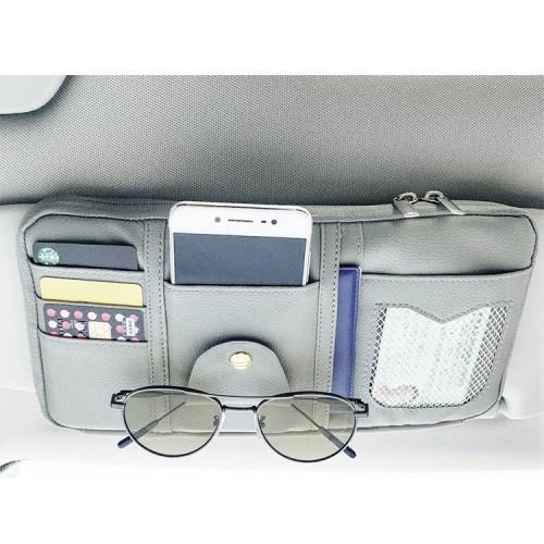 Автомобильный органайзер Car Sun Visor. Бежевый   в  Интернет-магазин Zelenaya Vorona™ 1