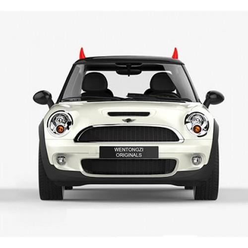 Покупка  3D наклейка на авто. Рога Дьявола в  Интернет-магазин Zelenaya Vorona™