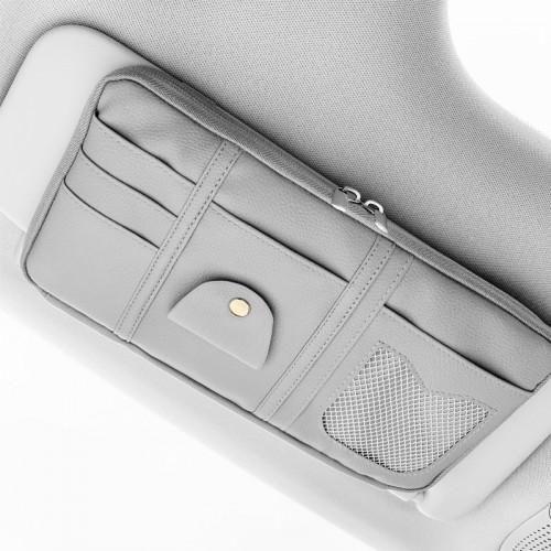 Покупка  Автомобильный органайзер Car Sun Visor. Серый в  Интернет-магазин Zelenaya Vorona™