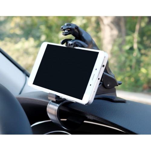 Держатель для телефона в автомобиль Черная пантера  в  Интернет-магазин Zelenaya Vorona™ 1