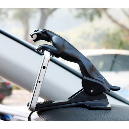 Покупка  Держатель для телефона в автомобиль Черная пантера в  Интернет-магазин Zelenaya Vorona™