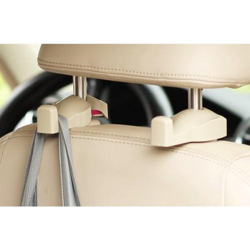 Держатели/крючки для сумок и пакетов в автомобиль Creative Car Hook. Бежевый  в  Интернет-магазин Zelenaya Vorona™ 1