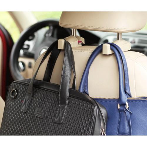 Держатели/крючки для сумок и пакетов в автомобиль Creative Car Hook. Бежевый  в  Интернет-магазин Zelenaya Vorona™ 2