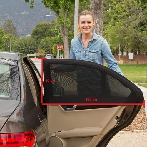 Москитная сетка для автомобиля 2 шт/компл.  в  Интернет-магазин Zelenaya Vorona™ 1