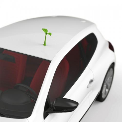 3D наклейка на авто Саженец  в  Интернет-магазин Zelenaya Vorona™ 3
