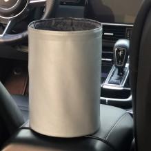 Складное мусорное ведро в автомобиль Car folding bucket. Серый
