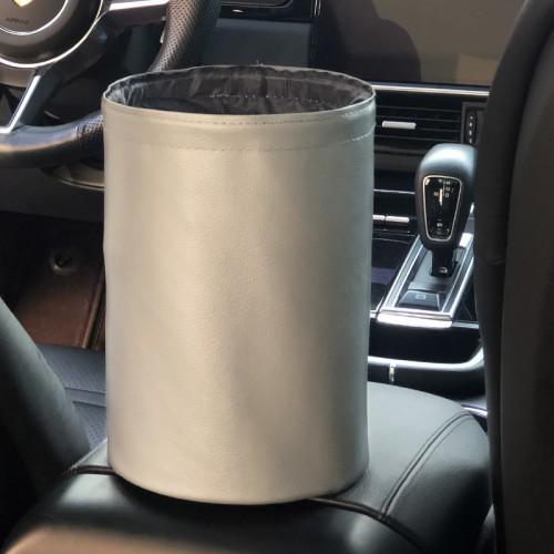 Покупка  Складное мусорное ведро в автомобиль Car folding bucket. Серый в  Интернет-магазин Zelenaya Vorona™